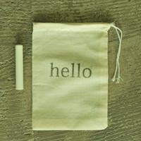 オリジナル巾着付き(hello) ラクト10mm