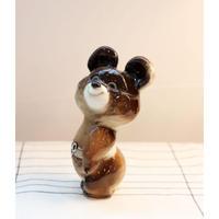 Olympic bear 'Mishka' figurine A