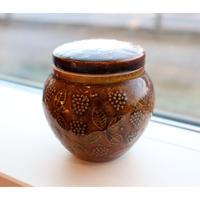 arabia chymos jar  brown