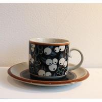 arabia taika tea cup&saucer