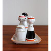 Riga Porcelain spice jar set 'play'