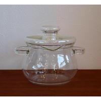 Boda Nova glass casserole with lid