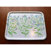 Vintage Marimekko/ Backman tray forget-me-not