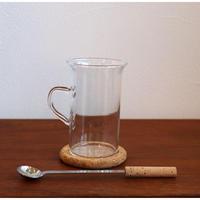 Boda Nova irish coffee cup and saucer set with spoon