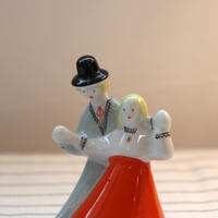 Riga Porcelain 'dancing couple'