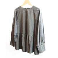 pot and tea west frill blouse