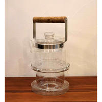 Boda Nova glass teapot and warmer M size