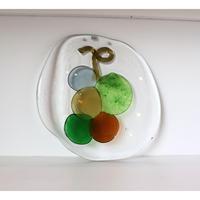 ARABIA 'Riippu' glass pendant  by Oiva Toikka