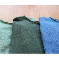 miho umezawa wool whole garment light sweater