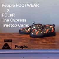"POLeR × People FOOTWEAR ""The Cypress"" Treetop Camo"