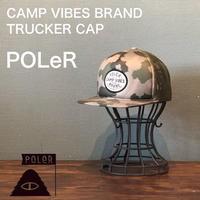 """POLeR """"TRUCKER CAP"""" Camo"""