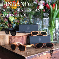 "EINBAND ""WOOD SUNGLASSES"" 全4色"
