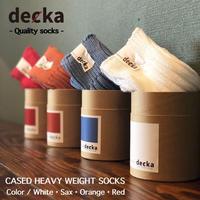 "decka ""CASED HEAVY WEIGHT SOCKS"""
