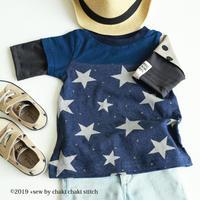 ダブル袖Tシャツ90-A4