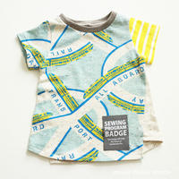 ねじれTシャツ110-A4
