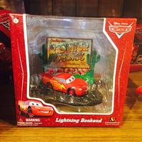 【USA直輸入】カーズ cars ライトニング マックィーン ブックエンド 本立て Disney ディズニー CARS