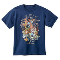 【USA直輸入】DISNEY スプラッシュマウンテン 紺色  Sサイズ Tシャツ ウォルトディズニーワールド ディズニー