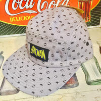 【USA直輸入】DCコミックス バットマン ロゴ ドット柄 スナップバック 帽子 キャップ DC
