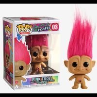 【USA直輸入】POP! Good Luck Trolls  グッドラック トロールズ トロール ピンク髪 3 ポップ フィギュア FUNKO ファンコ おへそにキラキラのボタン付き