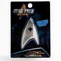 【USA直輸入】スタートレック Discovery メディカル バッヂ マグネット式 エンブレム スタトレ  Star Trek ディスカバリー ロゴ マーク Qmx  MEDICAL