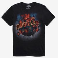 【USA直輸入】Zombieland ゾンビランド Tシャツ  ホラー コメディ ゾンビ 32のルール  ウディ・ハレルソン ジェシー・アイゼンバーグ エマ・ストーン
