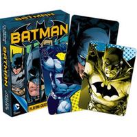 【USA直輸入】DC バットマン Batman  トランプ 52種類 コミック ダークナイトのバットマン柄 カード DCコミックス