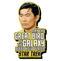 【USA直輸入】スタートレック スールー ファンキー チャンキー マグネット 磁石 スタトレ  Star Trek TOS Sulu 加藤 宇宙大作戦