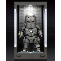 【USA直輸入】MARVEL マーベル ミニ エッグアタック シリーズ: アイアンマン3 シーズン1 マーク1 MEA-015M1 ビーストキングダム フィギュア アイアンマン