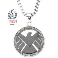 【USA直輸入】MARVEL Agent of SHIELD シールド シンボル ロゴ ネックレス ペンダント マーベル S.H.I.E.L.D.   アベンジャーズ