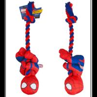 【USA直輸入】MARVEL スパイダーマン ロープぶら下がり プラッシュ ドッグトイ ぬいぐるみ ペット・ファンズ・コレクション マーベル
