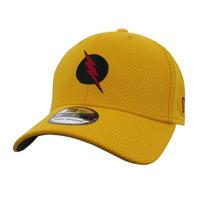 【USA直輸入】DC  リバースフラッシュ ロゴ イエロー キャップ 39Thirty Fitted ニューエラ NEWERA ベースボール キャップ 帽子 DCコミックス フラッシュ FLASH