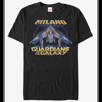 【USA直輸入】MARVEL ガーディアンズオブギャラクシー スターロード ミラノ号 Tシャツ Mサイズ マーベル  ガーディアンズ ミラノ Milano ロケットラクーン
