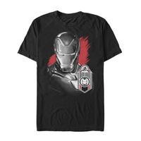 【USA直輸入】MARVEL アベンジャーズ エンドゲーム アイアンマン タグ Tシャツ マーベル 映画 MCU Iron Man トニースターク