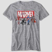 【USA直輸入】MARVEL マーベル アベンジャーズ グラフィック Tシャツ ユースサイズ MCU スパイダーマン アイアンマン キャプテンアメリカ ソー ブラックパンサー