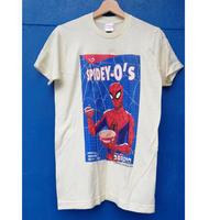 【USA直輸入】MARVEL  スパイダーバース SPIDEY-O'S シリアル Tシャツ クリーム色 Sサイズ スパイダーマン マーベル   SPIDER-VERSE