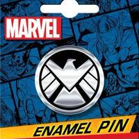 【USA直輸入】MARVEL Agent of SHIELD シールド シンボル ロゴ エナメル ピン マーベル ピンズ ピンバッジ S.H.I.E.L.D.