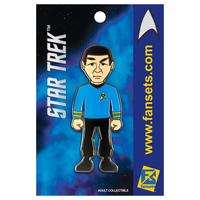 【USA直輸入】スタートレック ミスター スポック ピンズ スタトレ  Star Trek ピン  Mr Spock デフォルメ Pin