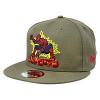 【※ご予約商品・USA直輸入】MARVEL スパイダーマン 東映 スパイダーマッ 特撮  ロゴ 9Fifty キャップ  ニューエラ NEWERA  帽子 マーベル Spiderman  80th