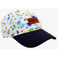 【USA直輸入】Disney PIXAR ピクサー トイストーリー・ニモ・モンスターズインク・バブスライフ 総柄 ダッド キャップ 帽子 ハット ディズニー