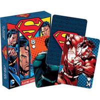 【USA直輸入】DC スーパーマン Superman トランプ 52種類 コミック マン・オブ・スティールのスーパーマン柄 カード DCコミックス クリプトン人