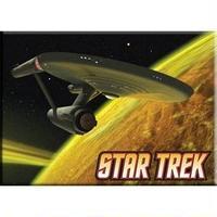【USA直輸入】スタートレック U.S.S. Enterprise  エンタープライズ マグネット 磁石 スタトレ  Star Trek TNG  TOS  宇宙船 エンタープライス