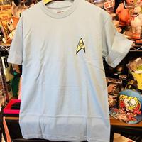 【USA直輸入】スタートレック 化学班 コスプレ 青色 Tシャツ STAR TREK スタトレ