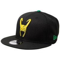 【※ご予約商品・USA直輸入】MARVEL ロキ loki  ロゴ 9Fifty キャップ  ニューエラ NEWERA 帽子 マーベル  thor  ソー