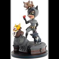 【USA直輸入】 DCコミックス キャットウーマン Q-FiG Elite フィギュア PVC DC Qフィグ Qfig QMx catwoman ネコ バットマン クアンタムメカニックス