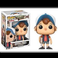 【USA直輸入】 POP! DISNEY Gravity Falls 怪奇ゾーン グラビティフォールズ  ディッパー・パインズ 240 ポップ! ファンコ フィギュア Dipper Pines