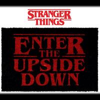 【USA直輸入】海外ドラマ NETFLIX ストレンジャーシングス ENTER THE UPSIDE DOWN ドアマット マット Stranger Things インテリア