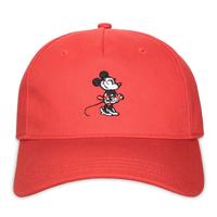 【USA直輸入】DISNEY ミニーマウス ウォルトディズニースタジオ 赤色 ベースボール キャップ ハット 帽子 マジックテープ ディズニー ミニーちゃん ミニー