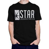 【USA直輸入】DC スターラボ フラッシュ Tシャツ XXLサイズ DCコミックス FLASH Star Labs  海外ドラマ