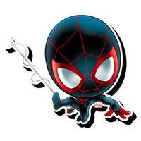 【USA直輸入】MARVEL スパイダーマン マイルス モラレス  チビ ファンキー チャンキー マグネット 磁石 マーベル Spiderman   MilesMorales