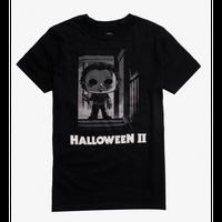 【USA直輸入】ハロウィン2  Halloween II  Funko Pop! Tシャツ  TVボックス入り マイケル・マイヤーズ ホラー ハロウィン ブギーマン 殺人鬼